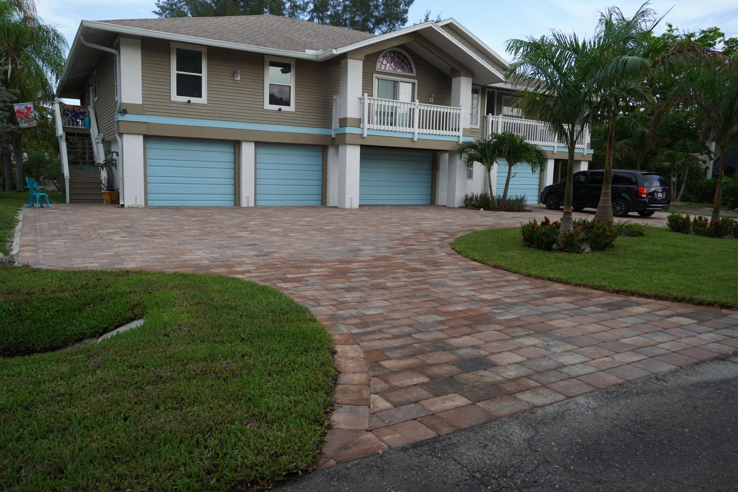 New Paver Driveway Naples FL – A