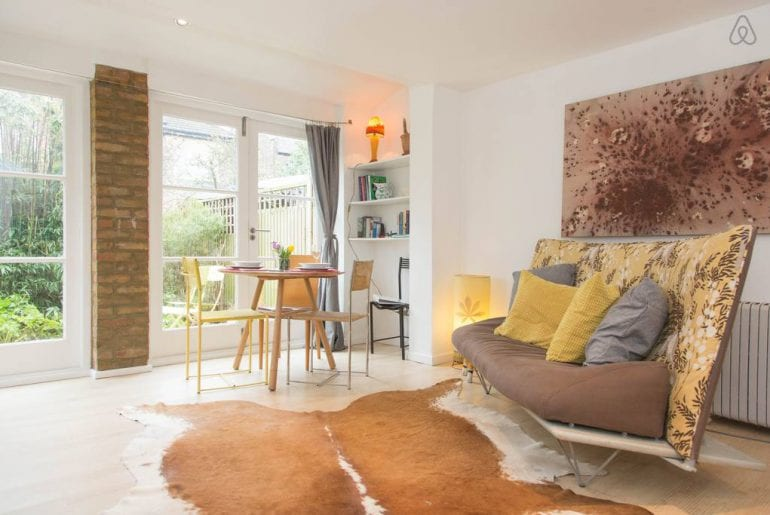 east london coach house from airbnb