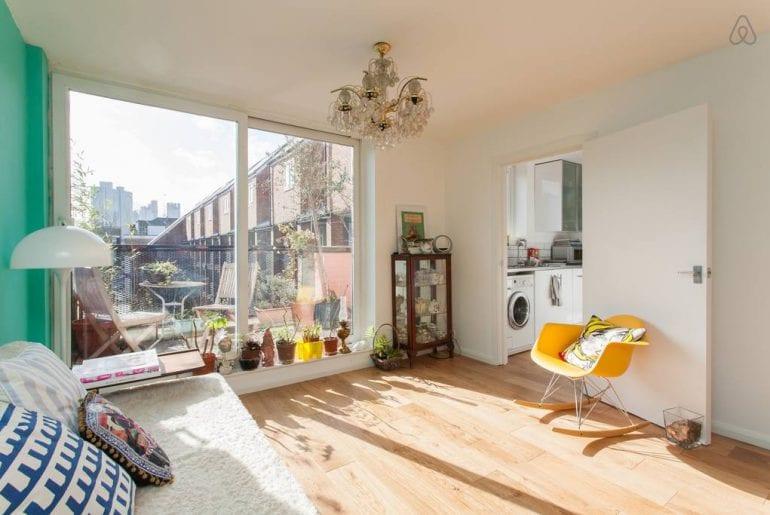 airbnb loft in shoreditch