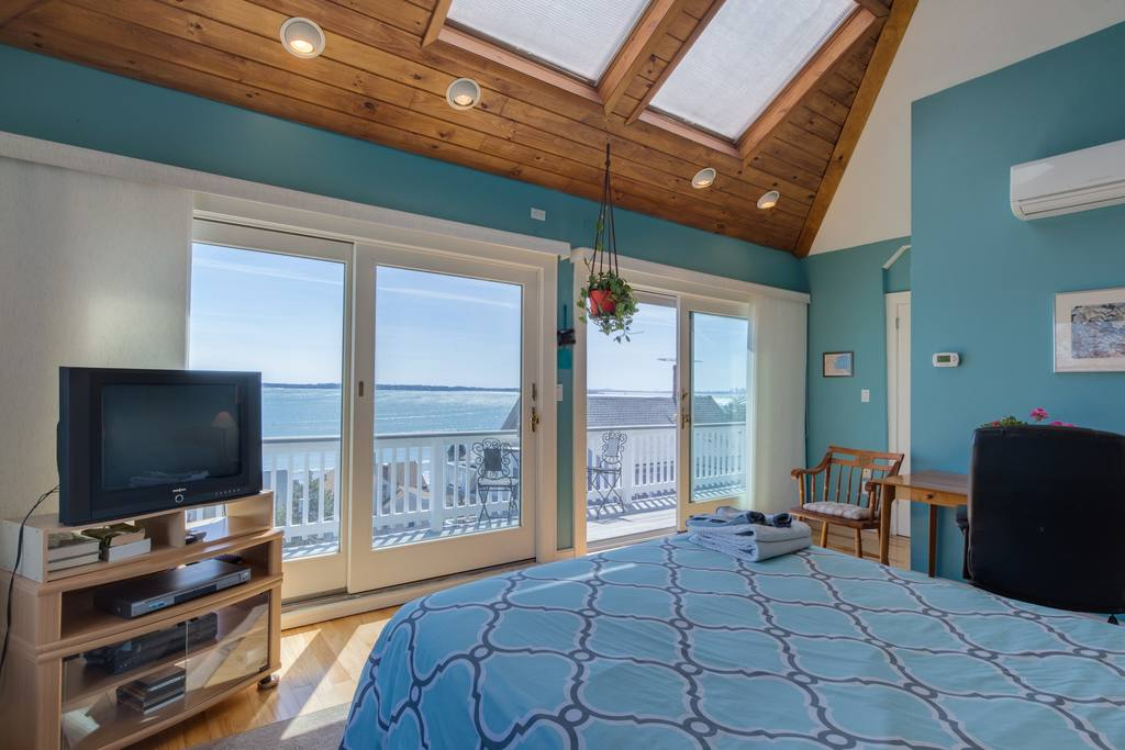 ocean view and hot tub boston airbnb