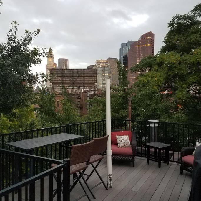 historic airbnb studio in north end boston