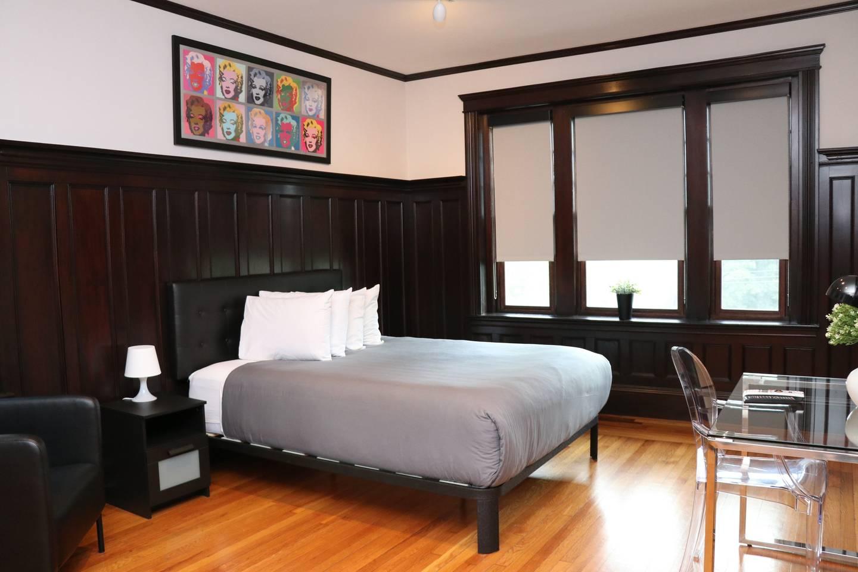 cosy airbnb studio in brookline boston