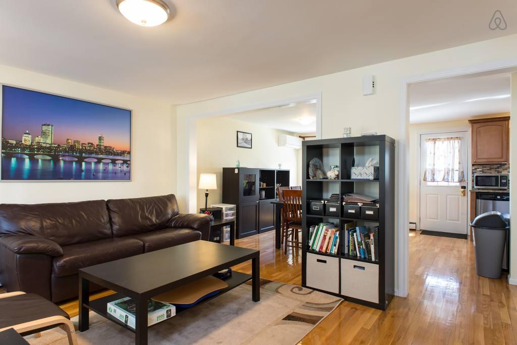 boston airbnb cambridge house