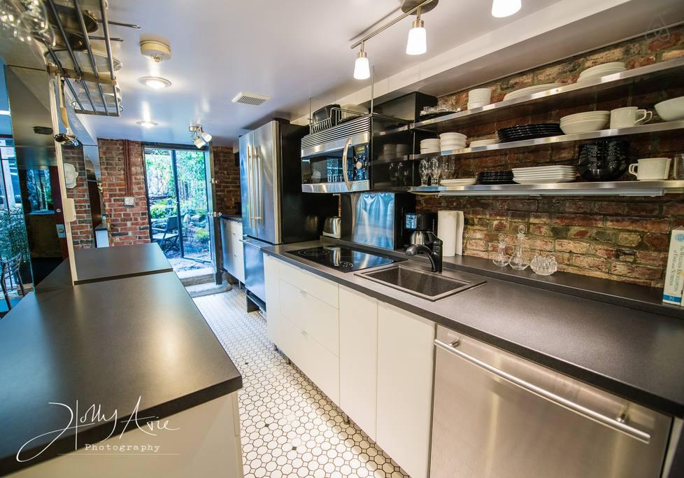 boston airbnb kitchen southend