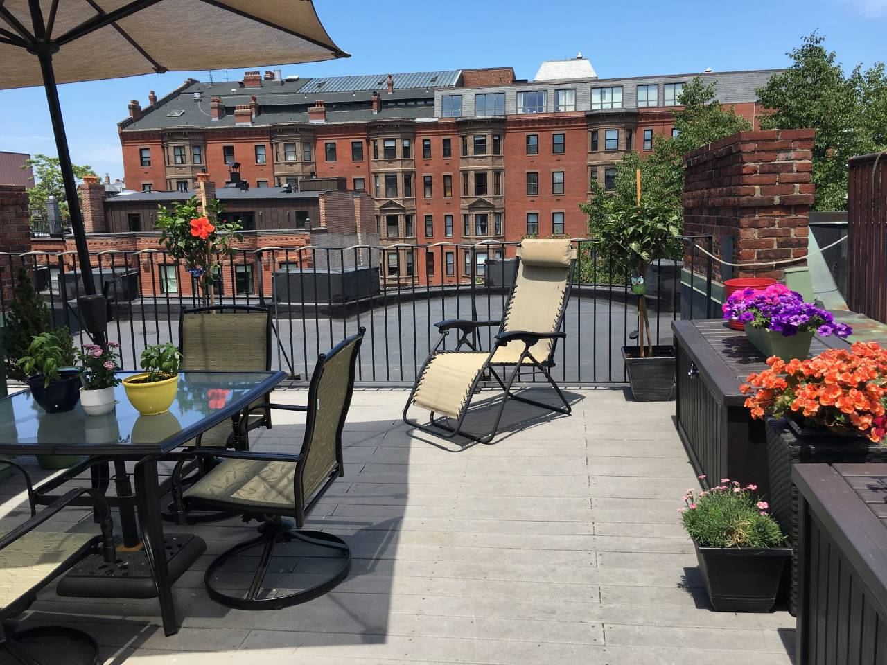 boston airbnb roof deck
