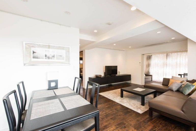 elegant airbnb apartment in shinjuku tokyo