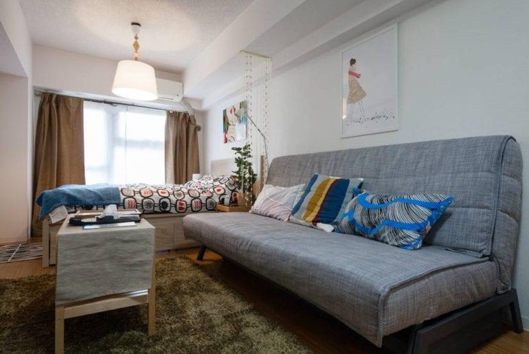 cozy room airbnb shinjuku tokyo