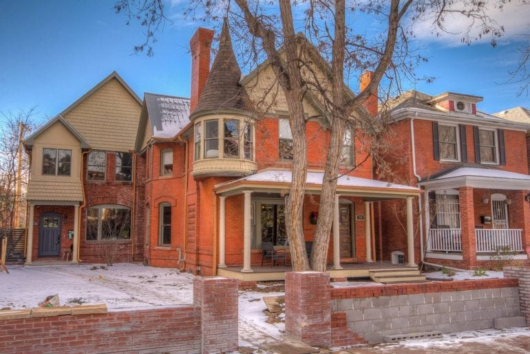 capitol hill airbnb denver luxury home