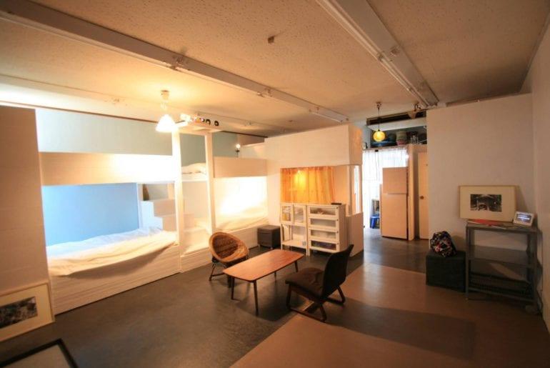 airbnb artists apartment in kumegawa tokyo