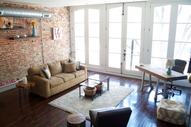 spectacular airbnb old city apartment with balcony philadelphia