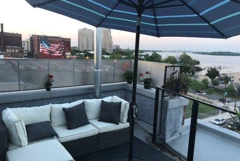 luxury airbnb waterfront condo with view philadelphia
