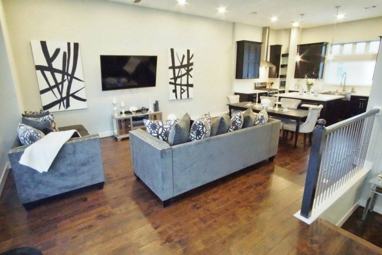 Houston airbnb townhouse north east downtown