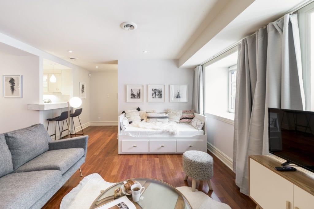airbnb montreal modern loft