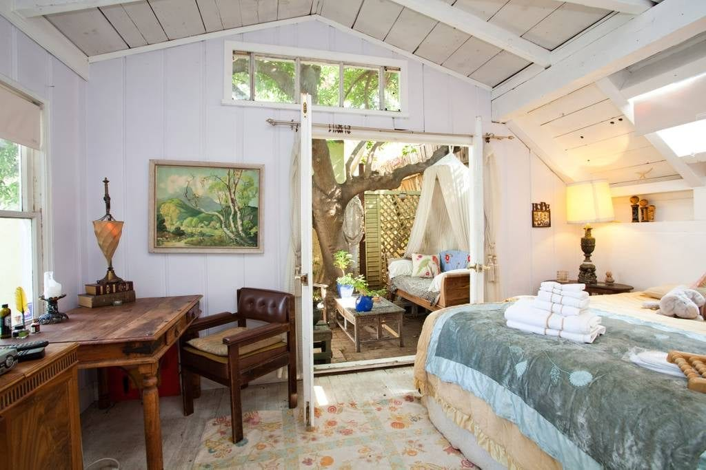 airbnb los angeles rustic treehouse