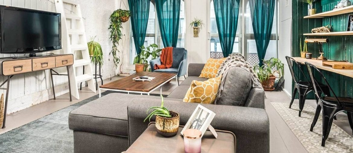 airbnb montreal old port apartment