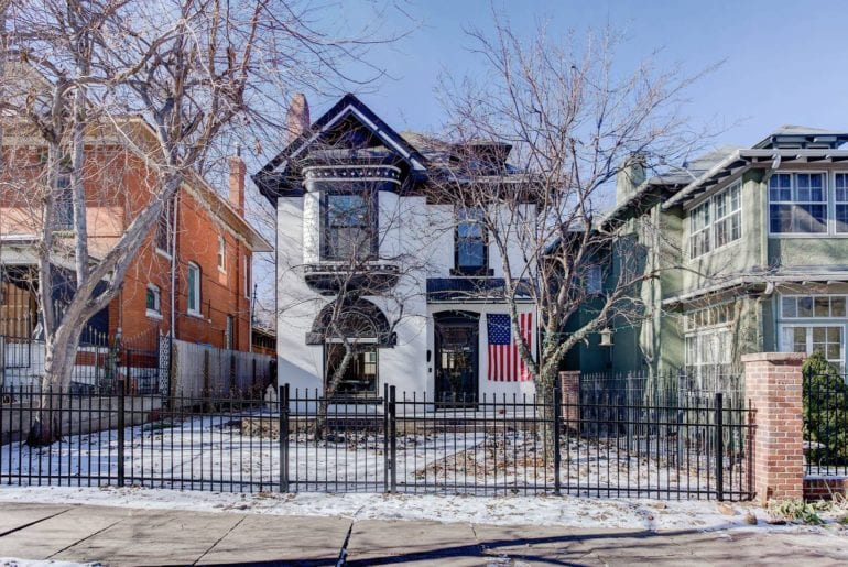 renovated airbnb home cheeseman park denver