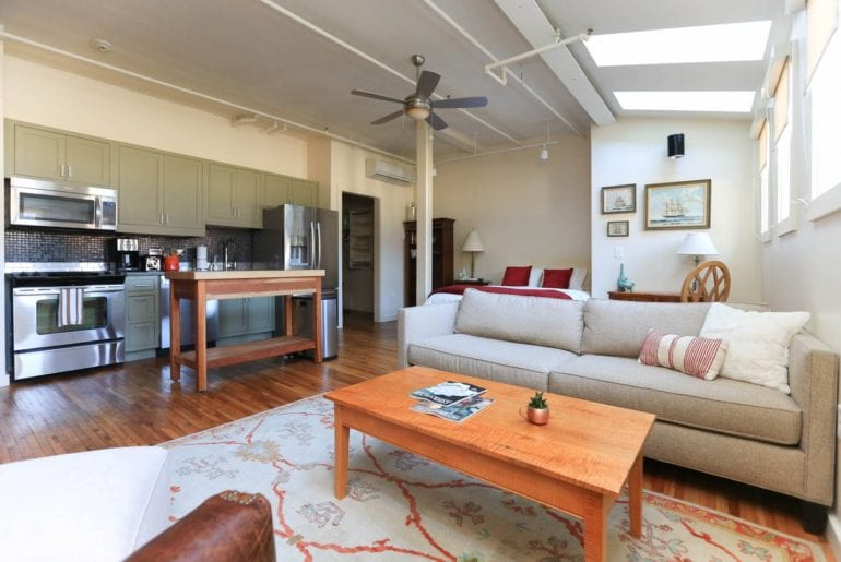 airbnb asheville modern living