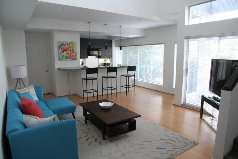 modern airbnb loft in downtown Houston
