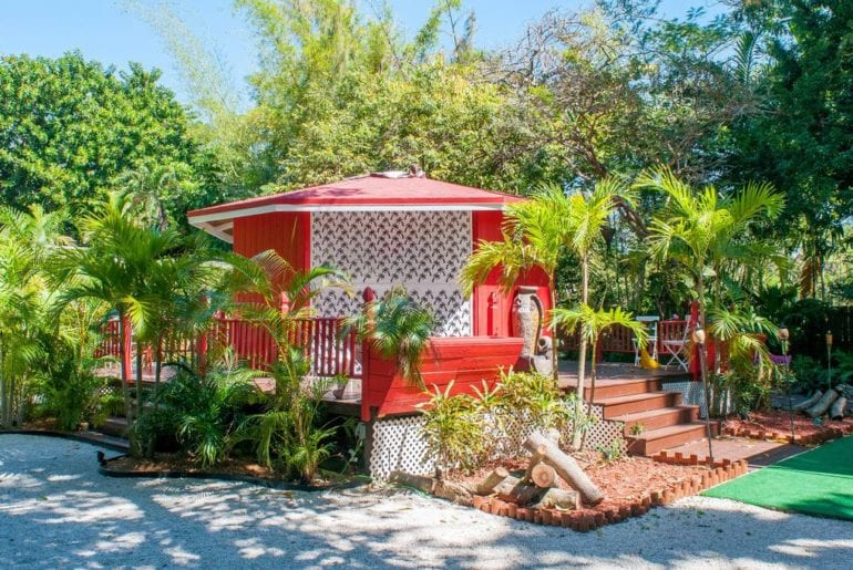 Escape the crazy life of Miami in this cozy camper style bungalow. Miami on the cheap.