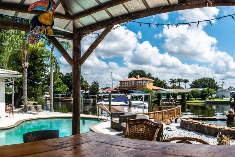 tampa airbnb beachfront house