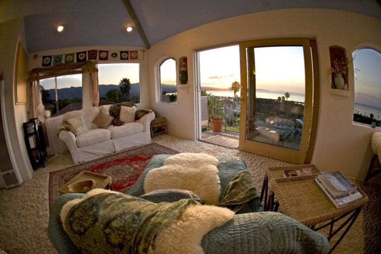 santa barbara ocean view airbnb