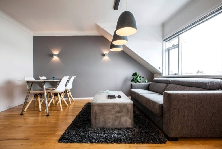 Airbnb Iceland penthouse apartment