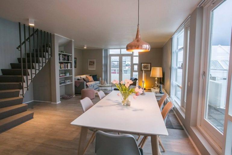 airbnb penthouse reykjavik