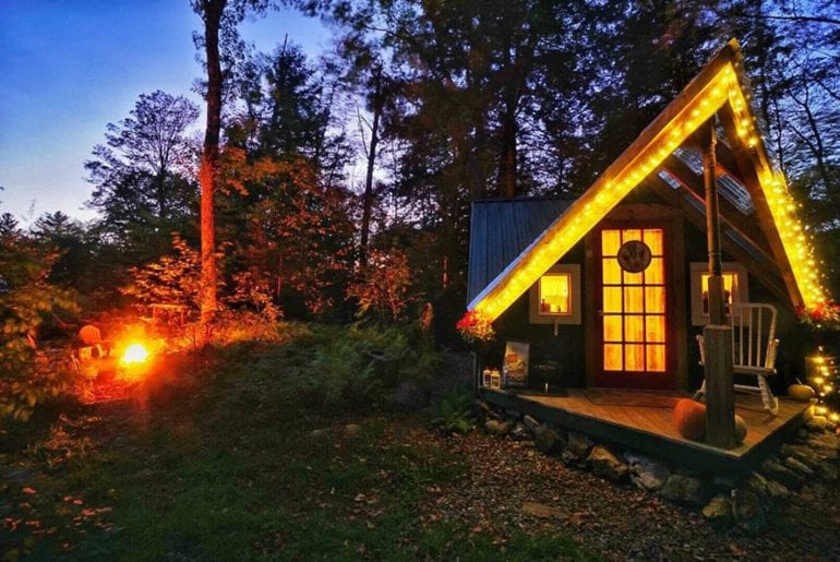 airbnb vermont cabin and sauna