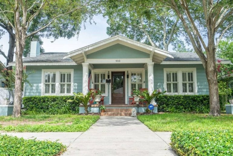 airbnb tampa bungalow