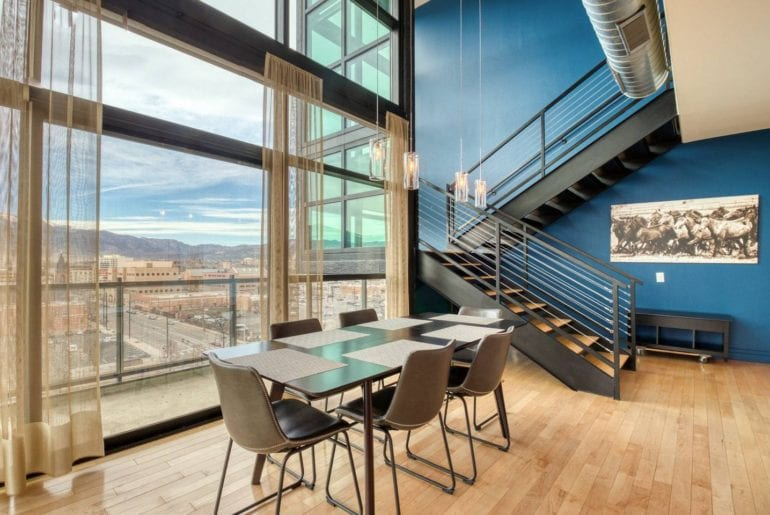 contemporary colorado sprngs condo airbnb