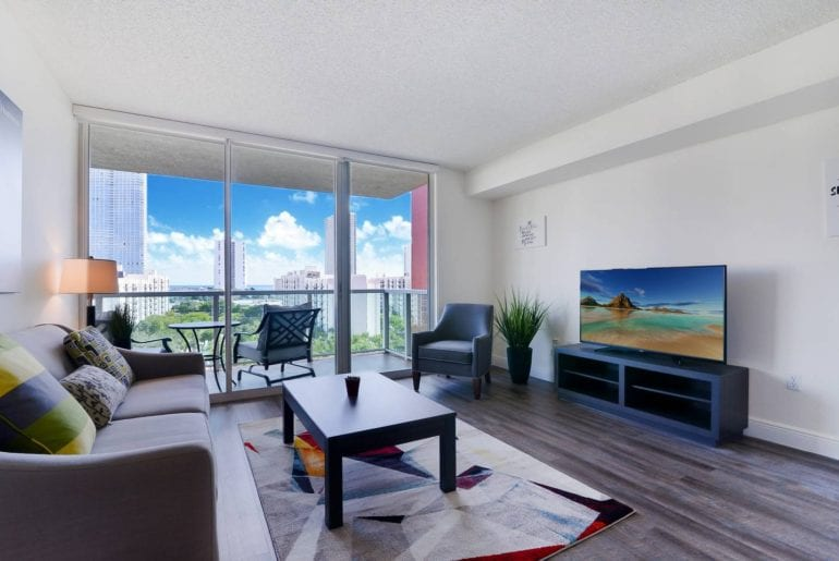 ocean view penthouse airbnb miami