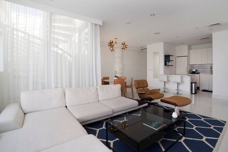 designer airbnb penthouse in south beach miami