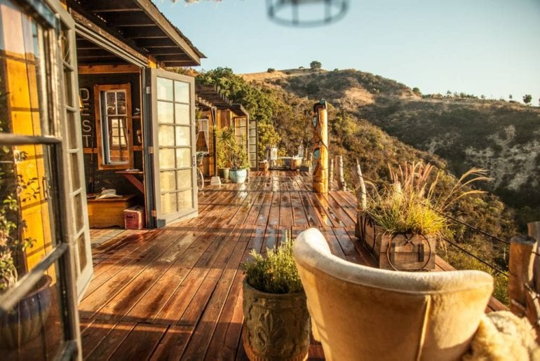 natural and picturesque airbnb home topanga canyon