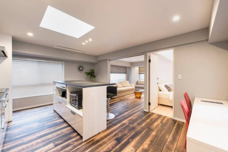upscale and modern airbnb in tokyo