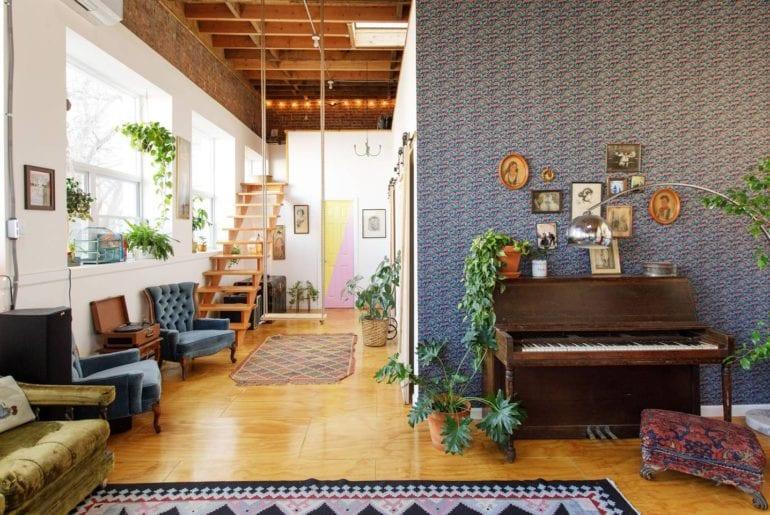 brooklyn airbnb artists loft new york city