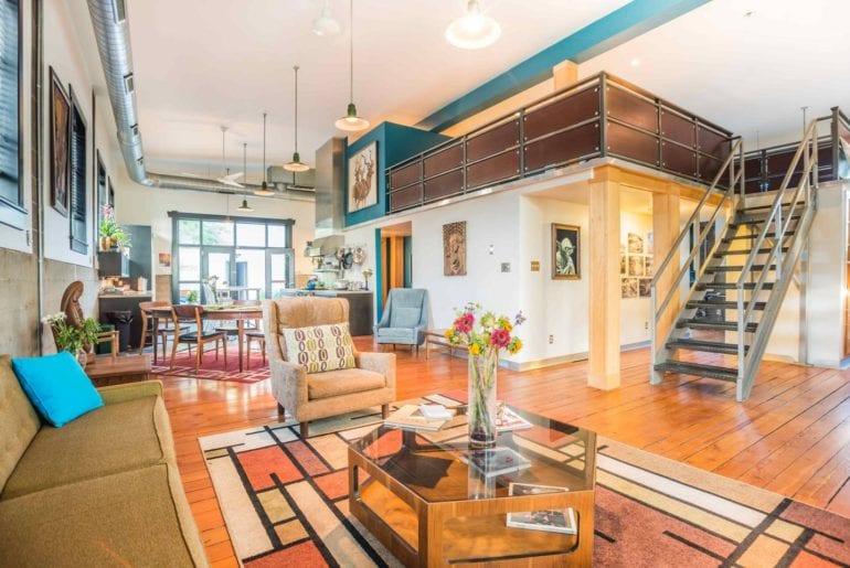 urban airbnb loft in rino district denver