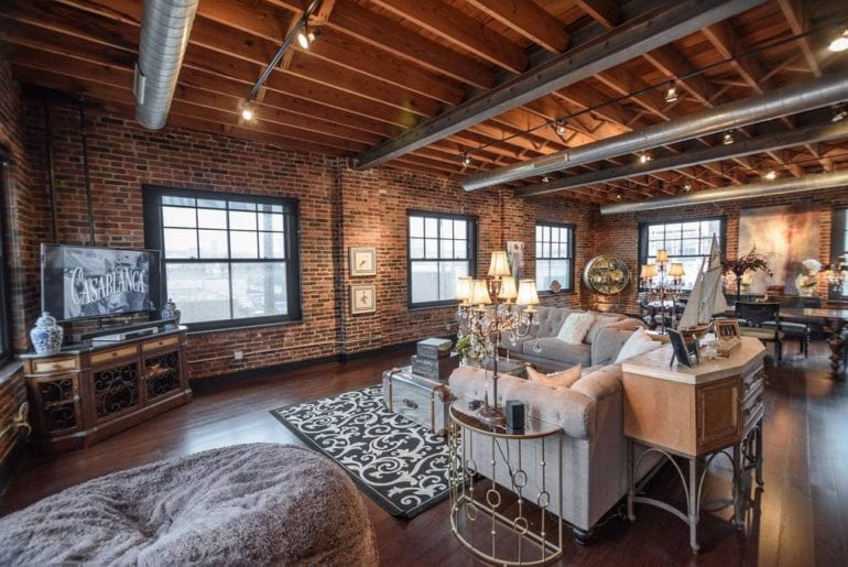 st louis midtown downtown penthouse airbnb loft
