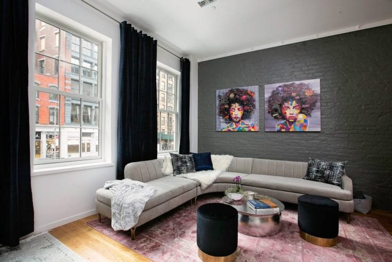 soho loft with private terrace new york airbnb