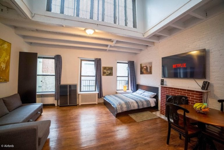 airbnb west village loft new york city