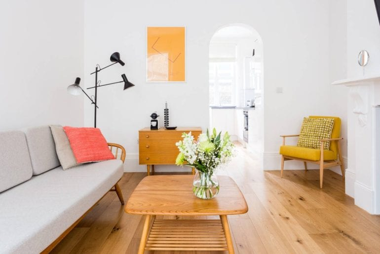 airbnb central london apartment