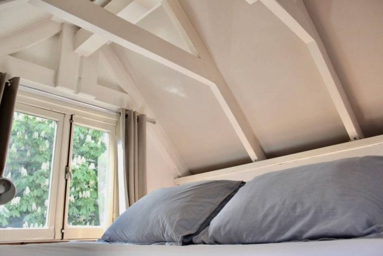 charming loft bedroom airbnb amsterdam