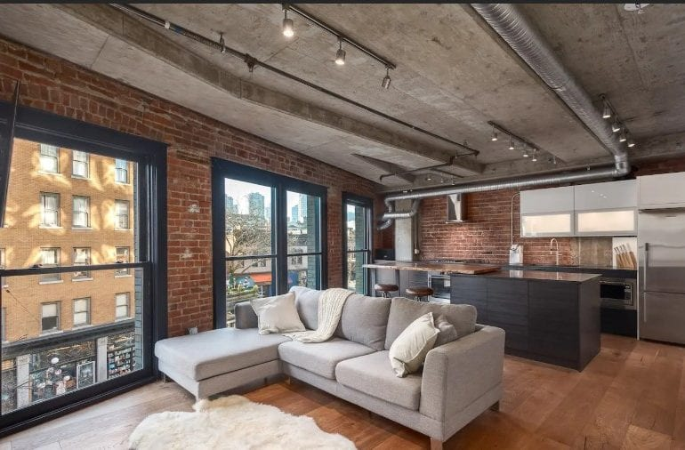 warehouse conversion vancouver airbnb