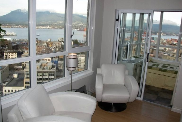 large vancouver penthouse airbnb