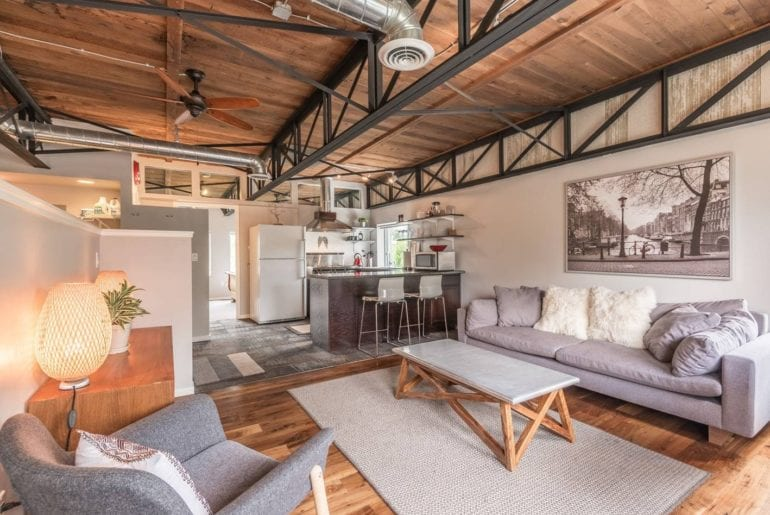 modern airbnb loft denver colorado