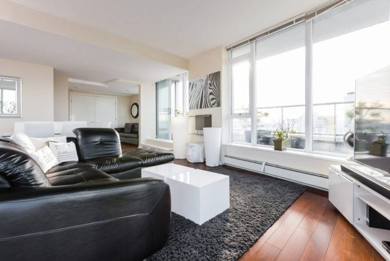 luxury penthouse airbnb vancouver