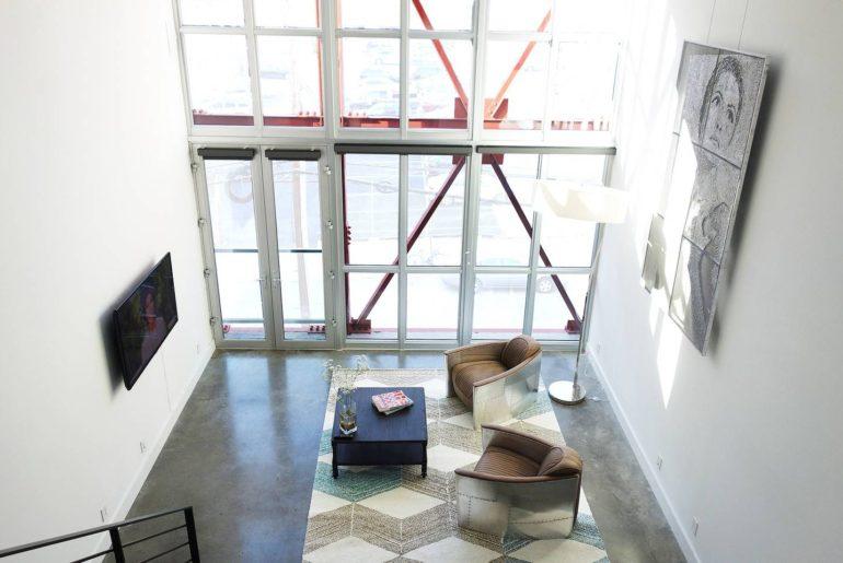 philadelphia modern loft airbnb