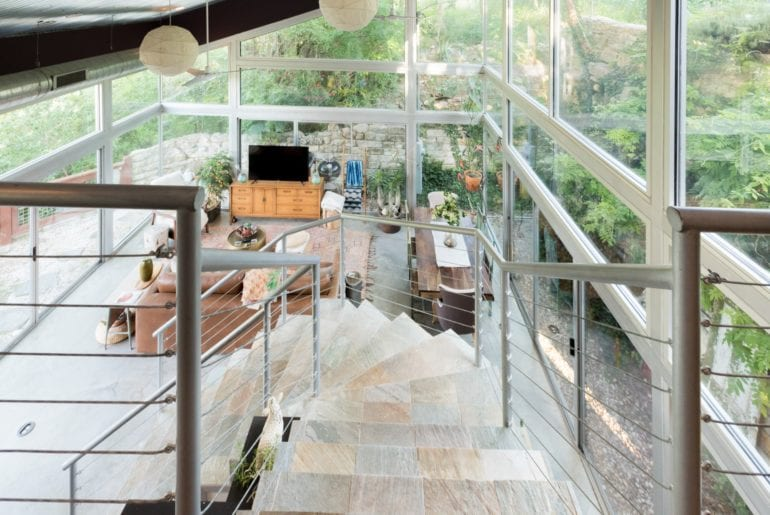 This glass home is one of a kind - with an unparalleled brightness and comfort.