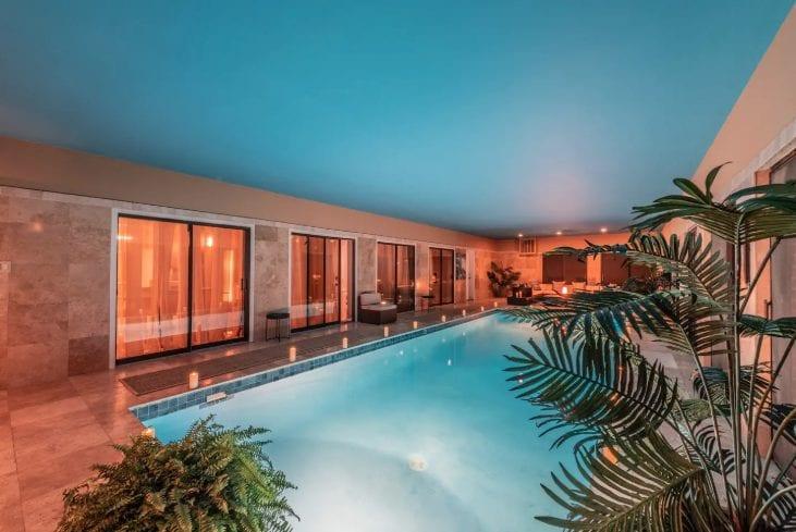 luxury pool airbnb san antonio