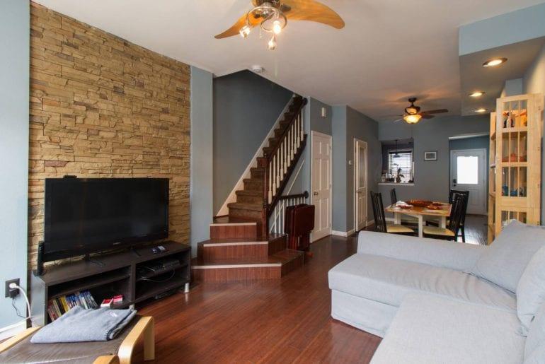 3 bedroom townhouse airbnb philadelphia