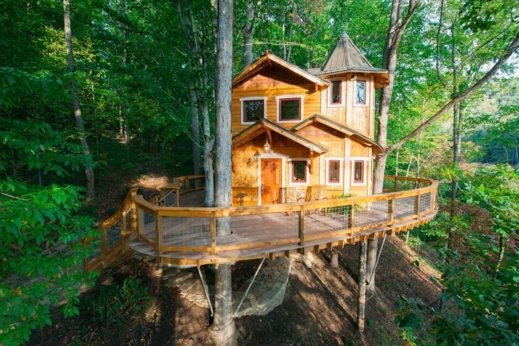 romantic airbnb asheville